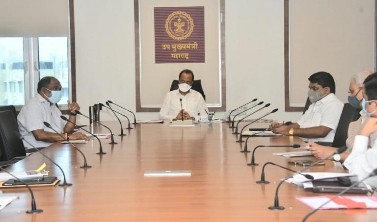 एसटी महामंडळाच्या आर्थिक उपाययोजनांसाठी उपमुख्यमंत्री ना. अजित पवारजी यांच्या अध्यक्षतेखाली आढावा बैठक